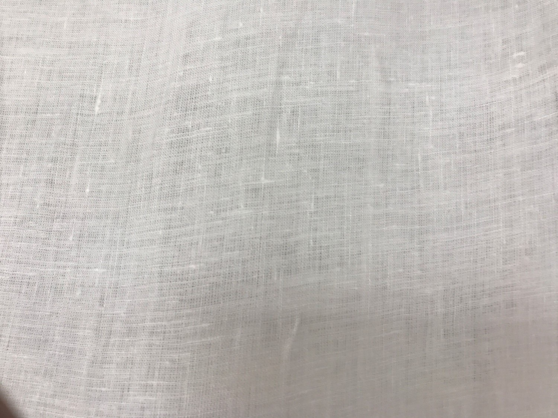 Beyaz Keten Kumaş