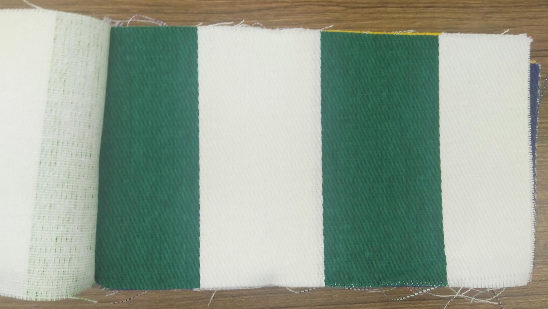 Koyu Yeşil Çizgili Bez