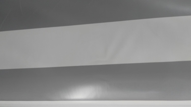 Gri Çizgili PVC Branda