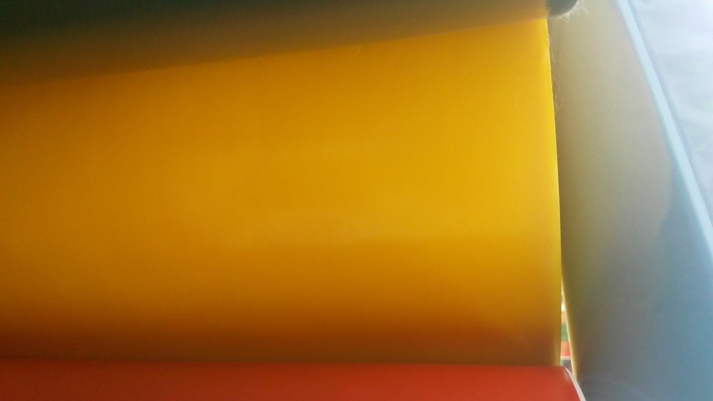 Sarı PVC Branda