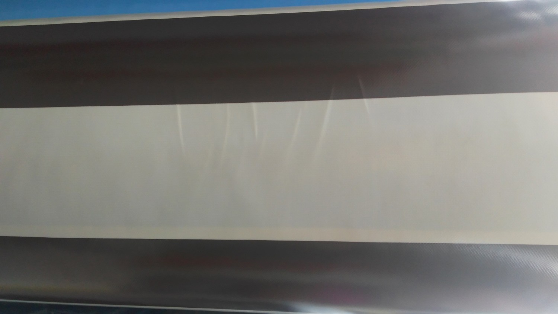 Siyah Çizgili PVC Branda