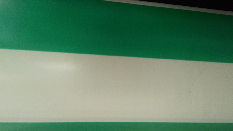 Yeşil Çizgili PVC Branda